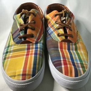 Lauren By Ralph Lauren Veeta Madras Ladies 8B Shoe